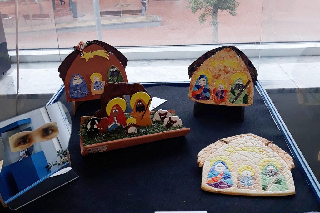 exposición artesania de navidad